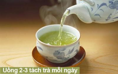 uống trà thay nước lọc có được không