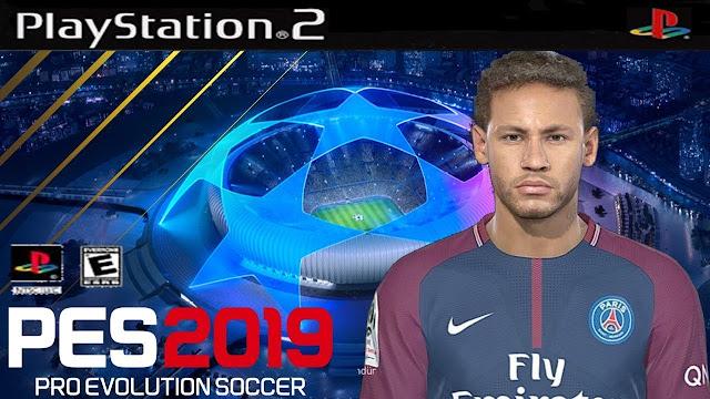 تحميل لعبة PES 2019 PS2 باتش الاساطير