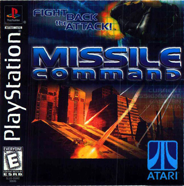 Missile Command - PS1 - ISOs Download
