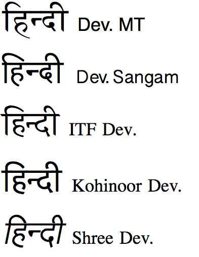 Ananda devanagari and latin fonts: download complete collection of.