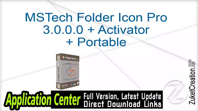 MSTech Folder Icon Pro 3.0.0.0 + Activator + Portable
