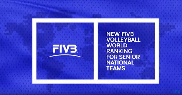 FIVB giới thiệu hệ thống xếp hạng mới cho bóng chuyền thế giới