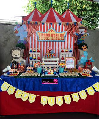 Carnival themed Sweet Buffet