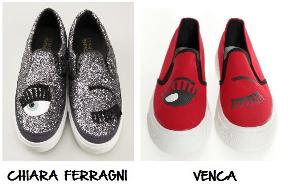 Clon zapatos Chiara Ferragni Venca