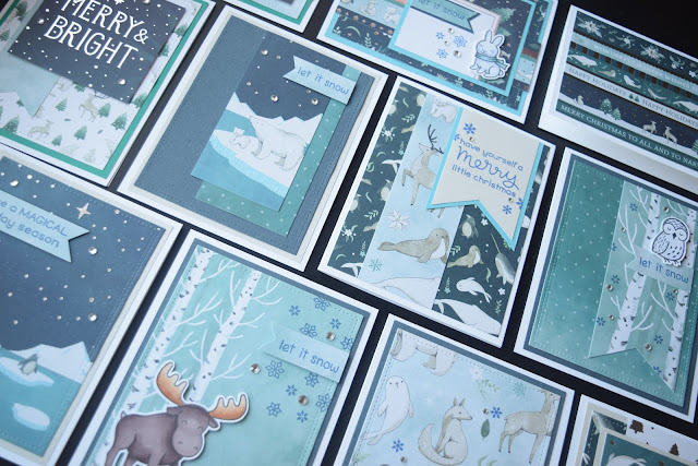 Christmas Cards with Recollections Winter Dream by Jess Crafts
