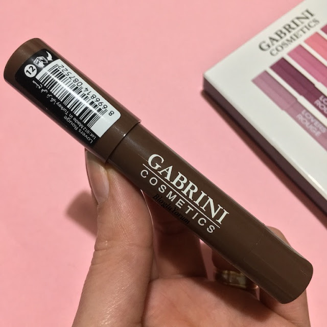 gabrini cosmetics lovers rouge ruj 12