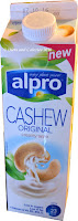 Alpro Cashew Nut Milk carton