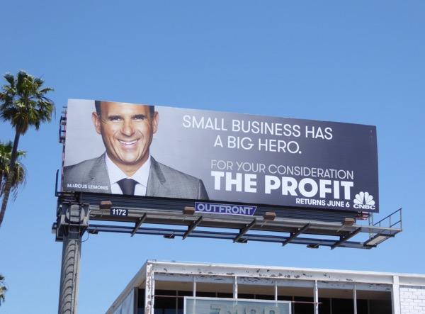 Profit season 5 big hero billboard