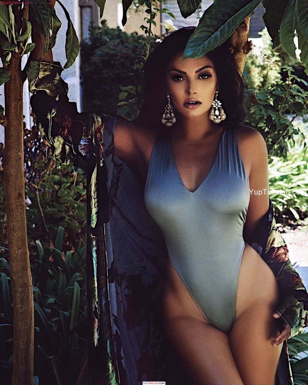Chandrika Ravi hot Lingerie, Swimwear Photos-Navel show