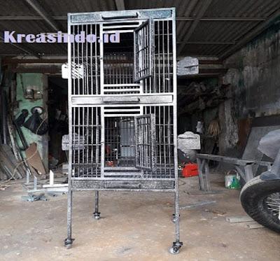 Jasa Pembuatan Kandang Burung Beo Besi di Jabodetabek, Garansi 3-6 Bulan