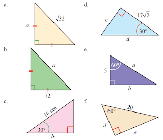 Gambar perbandingan sudut istimewa pada segitiga siku-siku www.jawabanbukupaket.com