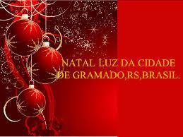 A imagem diz: Natal luz da Cidade de Gramado,RS,Brasil.