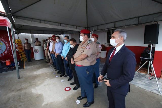 SSP inaugura 2º Pelotão do 16º GBM em Cruz das Almas