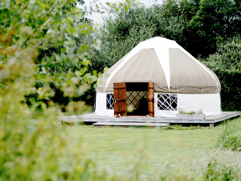 bloomfield yurt camping dorset review