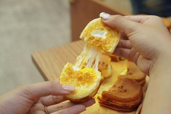 台南永康區區美食【兔子高帽雞蛋燒】餐點介紹-起司雞蛋燒
