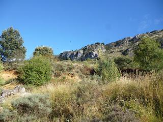 Situación de las cuevas de Valdegoba
