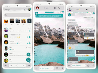 Lake Mountain Theme For YOWhatsApp & Delta WhatsApp By Ethel