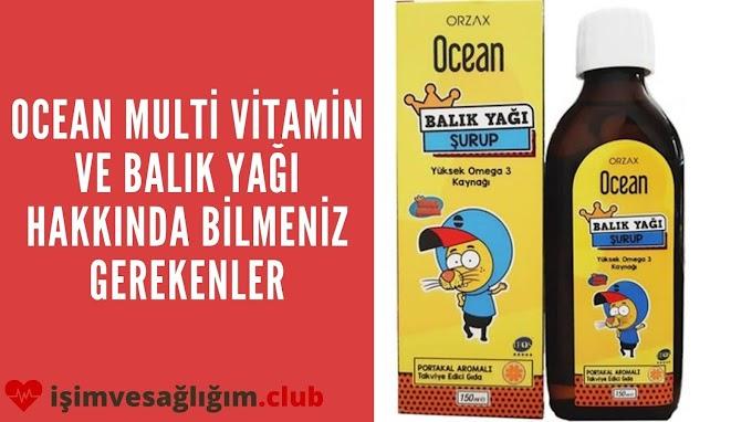 Kral Şakir Ocean Multi Vitamin ve Balık Yağı Nedir?
