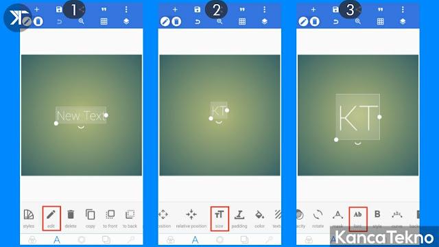 Cara Membuat Flat Design (Long Shadow) di Android Menggunakan Pixellab
