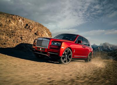 Source: Rolls-Royce. The Rolls-Royce Cullinan SUV.