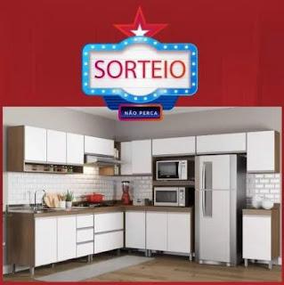 Promoção Likida Móveis Natal 2019 Concorra Cozinha Completa Sabrina