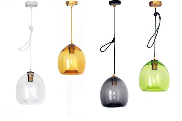 коллекция светильников colorglass
