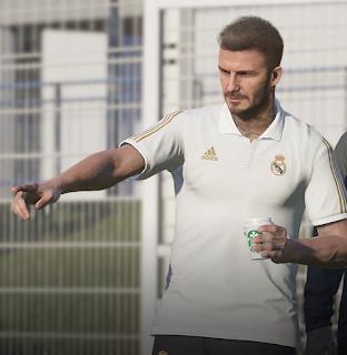 PES 2020 Mod Real Madrid Polo Shirt & Starbucks Coffee by Ginda01