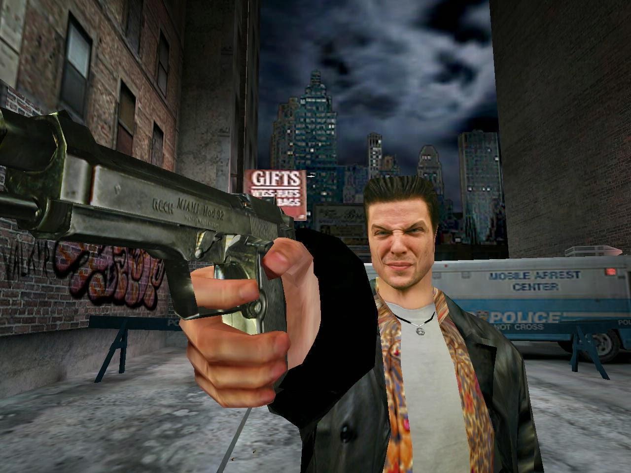 Max Payne лицо