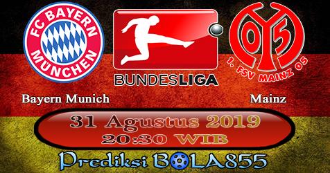 Prediksi Bola855 Bayern Munich vs Mainz 31 Agustus 2019