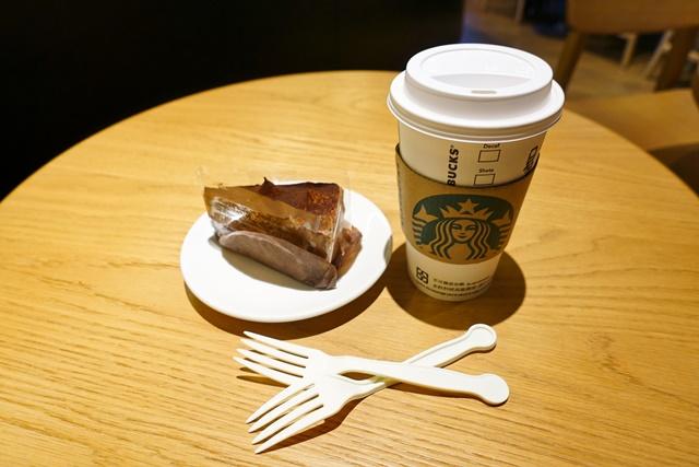 星巴克蛋糕咖啡