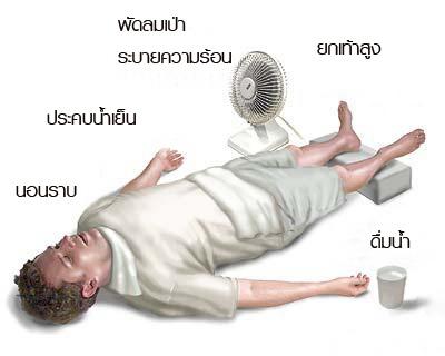 #ร้อนจนตาย  Heat stroke (ลมแดด)