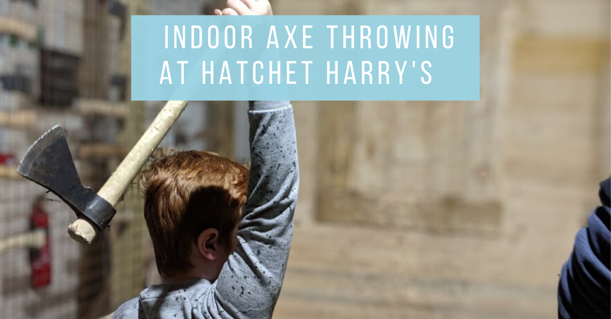 Indoor Axe Throwing in Newcastle at Hatchet Harry's  (Review)