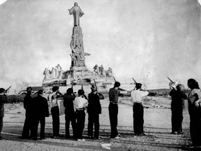 Krisztus kivégzése Madridban [1936]