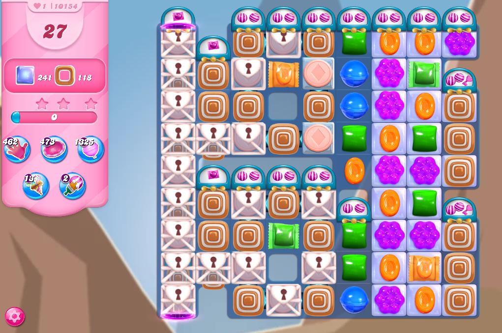 Candy Crush Saga level 10154