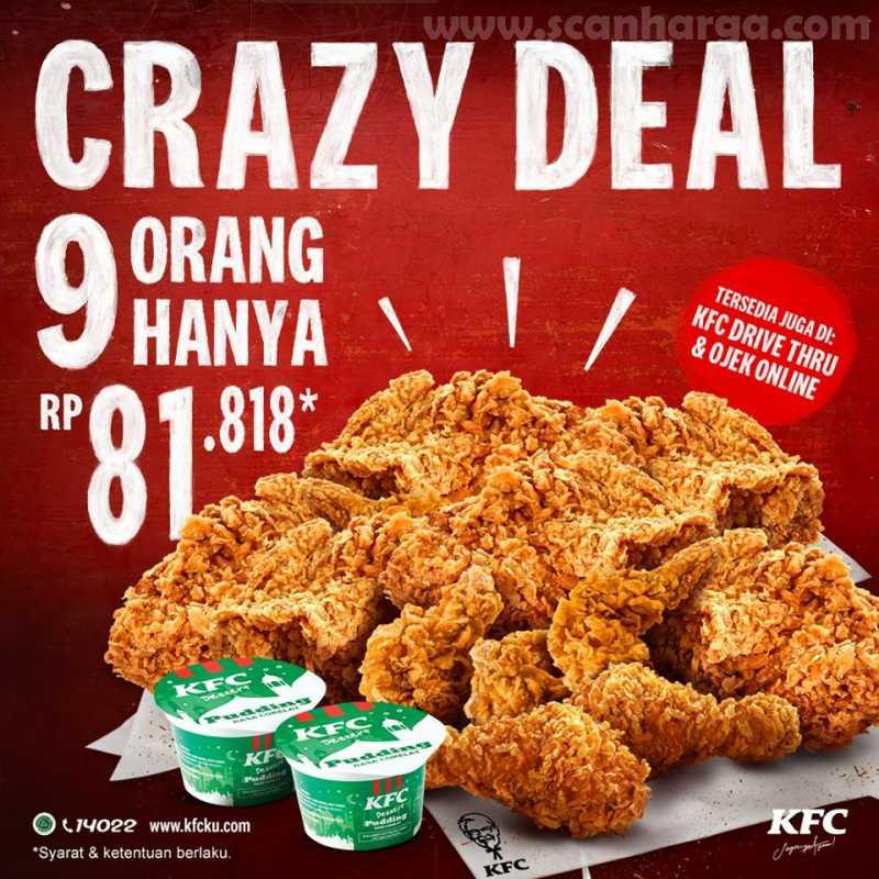 kfc crazy deal 9