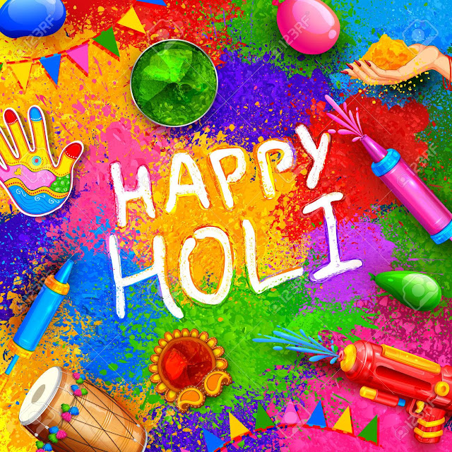 Happy Holi Message in Hindi 2020