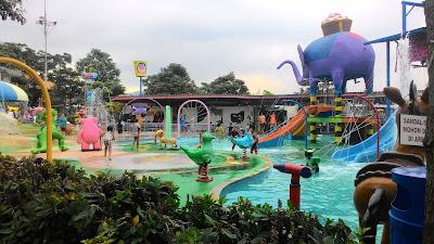 mini waterpark di Batu Secret Zoo