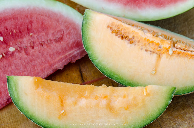 how to choose the best melons