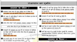Rajasthan GK PDF in Hindi 2019