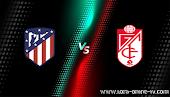 نتيجة مباراة غرناطة واتليتكو مدريد الدوري الاسباني