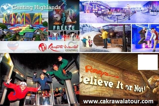 tour travel semarang - Liburan Ke Genting Highland Dalam paket tour ke singapore malaysia dan Thailand