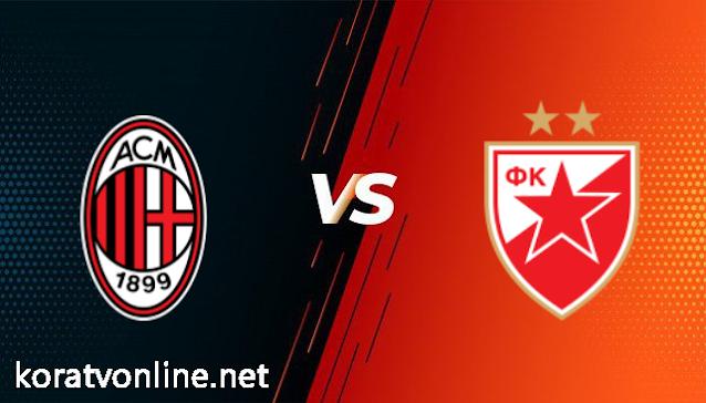 مشاهدة مباراة ميلان والنجم الأحمر بث مباشر اليوم بتاريخ 18-02-2021 في الدوري الاوروبي