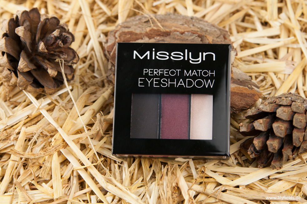 Misslyn - perfect match eyeshadow