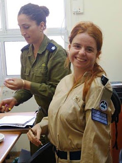 Nofar Choresh, Special in Uniform IDF soldier