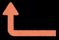 カラフルな矢印のイラスト7