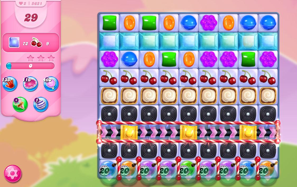 Candy Crush Saga level 5621