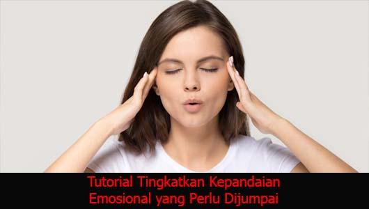Tutorial Tingkatkan Kepandaian Emosional yang Perlu Dijumpai