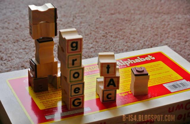 Wooden Stamps, Preschool, Block Towers
