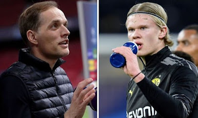 Chelsea coach promotes his fellow countryman Erling Haaland to Chelsea