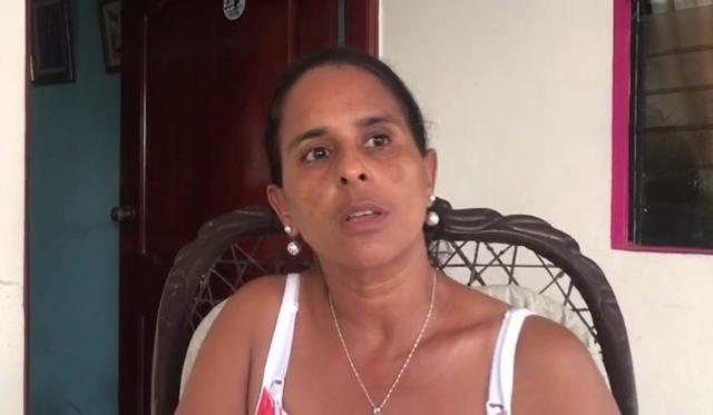 Adalgisa Polanco, madre de Emely Peguero